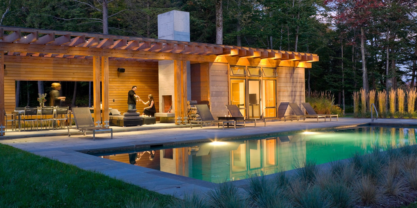 pool pool house wagner hodgson landscape architecture. Black Bedroom Furniture Sets. Home Design Ideas